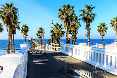 Photograph - Oceanside California Pier by Ben Graham