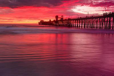 Photograph - Oceanside Pier 3 by Ben Graham