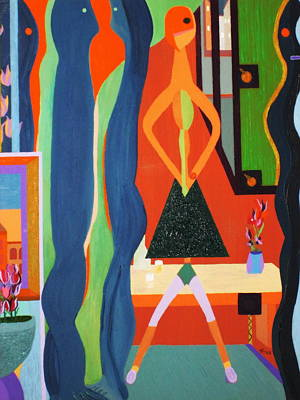 Office Party  Original by Bill OConnor