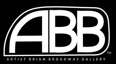 Celeb Digital Art - Official Abb Gallery Logo by Brian Broadway