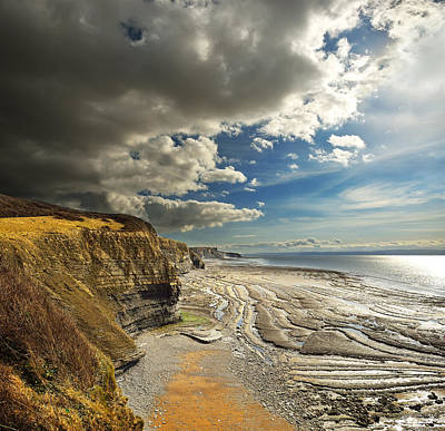 Photograph - Ogmore By Sea by Phil Fitzsimmons