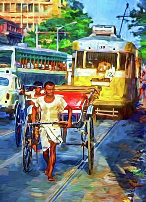 Oh Calcutta - Paint Art Print