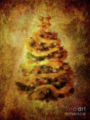 Digital Art - Oh Christmas Tree by Lois Bryan