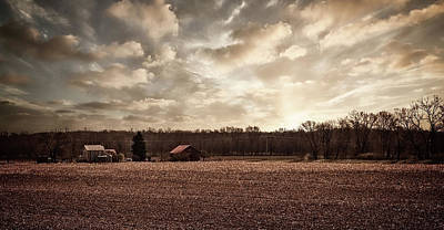 Photograph - Ohio Farm Sunrise by William Sturgell