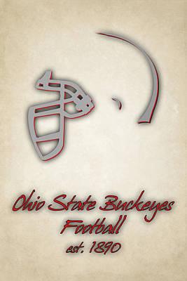 Buckeyes Photograph - Ohio State Buckeyes by Joe Hamilton