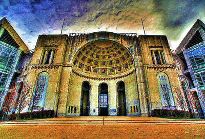 Mixed Media - Ohio State University by DJ Fessenden