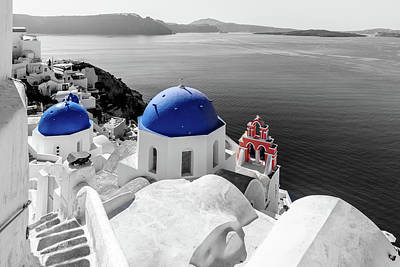Photograph - Oia, Santorini / Greece by Stavros Argyropoulos