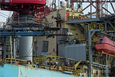 Photograph - Oil Industry by Jorgen Norgaard