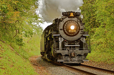Photograph - Old 765 by Jack R Perry