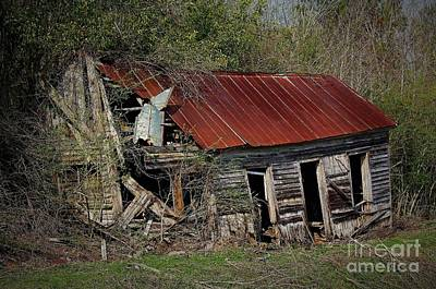 Photograph - Old And Forgotten by Paulette Thomas