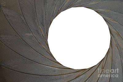 Old Aperture - Exposure Diaphragm Art Print by Michal Boubin