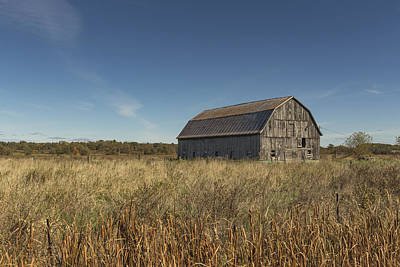 Photograph - Old Barn by Josef Pittner