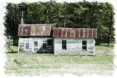 Old Barn Art Print by William Reade