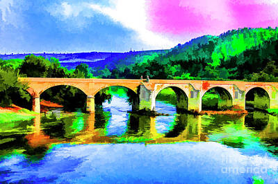 Photograph - Old Bridge by Rick Bragan