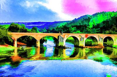 Photograph - Old Bridge by Rick Bragan