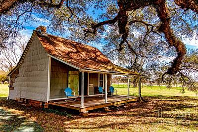 Photograph - Old Cabin by Ken Frischkorn