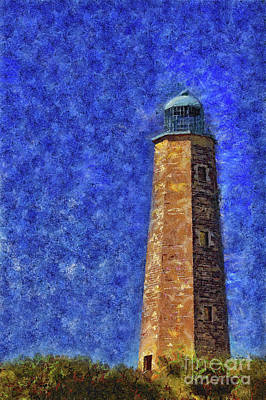 Old Cape Henry Lighthouse Art Print