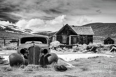 Photograph - Old Car In Bodie by Olivier Steiner