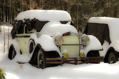 Photograph - Old Car by Mark Alesse