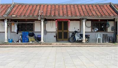 Custom Sinks Photograph - Old Chinese Farmhouse by Yali Shi
