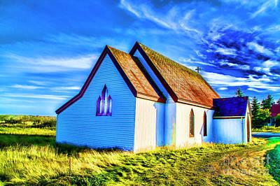 Photograph - Old Church by Rick Bragan