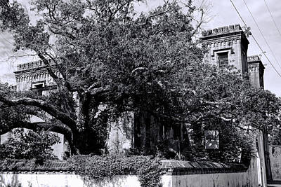 Photograph - Old Charleston Jail I by Ed Waldrop