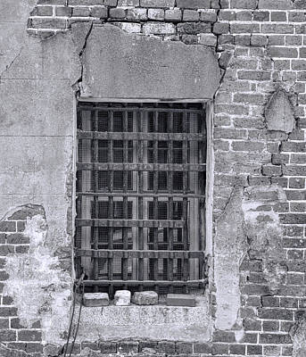 Photograph - Old Charleston Jail IIi by Ed Waldrop