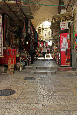 Photograph - Old City Street by Munir Alawi