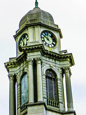 Photograph - Old Clock Tower by Gerald Kloss