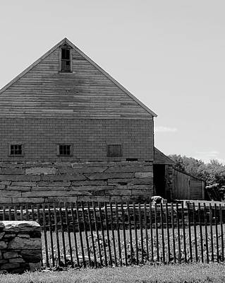 Photograph - Old Barn by Corinne Rhode