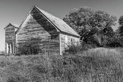 Photograph - Old Country Church by Edward Peterson