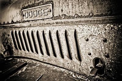 Old Dodge Grille Original by Marilyn Hunt