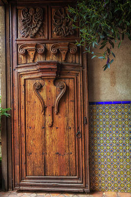 Photograph - Old Door by David Cote