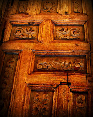 Old Door Art Print by Perry Webster