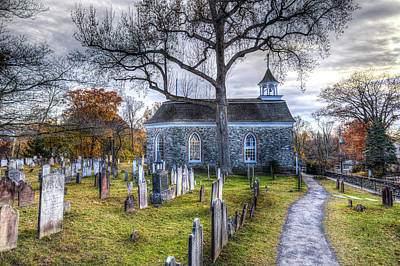 Photograph - Old Dutch Church Of Sleepy Hollow by David Pyatt