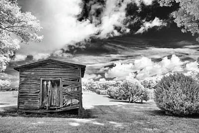 Photograph - Old Farm Shed by Paul Seymour