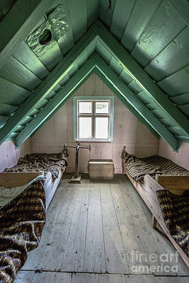 Photograph - Old Farmhouse Interior Iceland by Edward Fielding