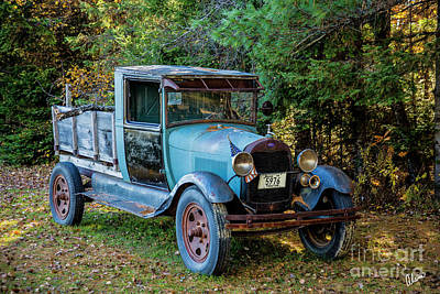 Photograph - Old Ford by Alana Ranney