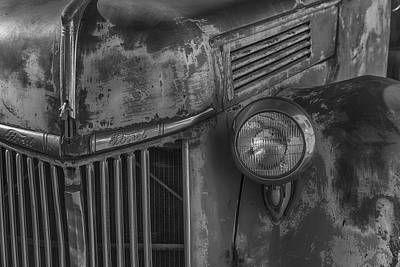 Truck Photograph - Old Ford Pickup by Garry Gay