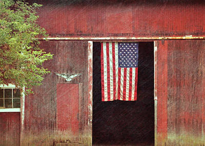 Old Glory Art Print by JAMART Photography