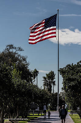 Photograph - Old Glory by Nance Larson