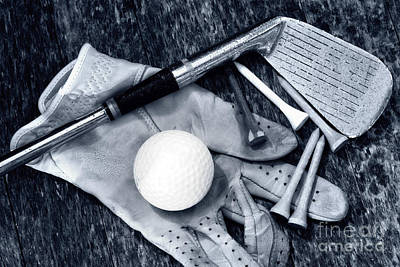 Photograph - Old Golf Days by Charline Xia