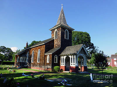 Photograph - Old Grace Church Massapequa  by Steven Spak