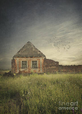 Rural Art Digital Art - Old House by Jelena Jovanovic
