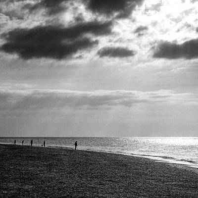Norfolk Wall Art - Photograph - Old Hunstanton Beach, Norfolk by John Edwards