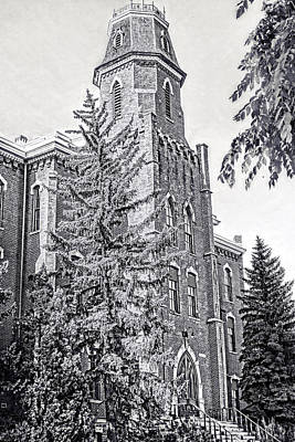 Photograph - Old Main University Of Colorado Boulder by Ann Powell