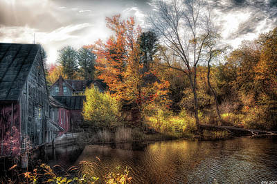 Old Mill Boards Art Print