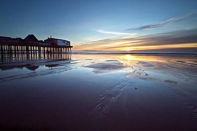 Photograph - Old Orchard Beach by Ed Fletcher