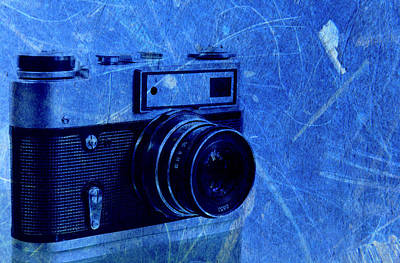 Aperture Mixed Media - Old Photo Camera by Boyan Dimitrov