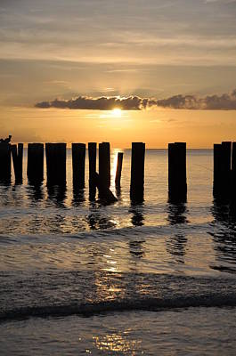 Naples Pier Photograph - Old Pier by Kelly Wade